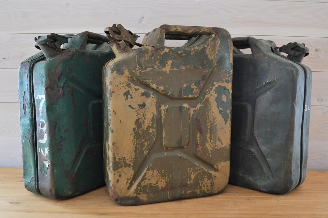 Authentic Iron Oil Cans