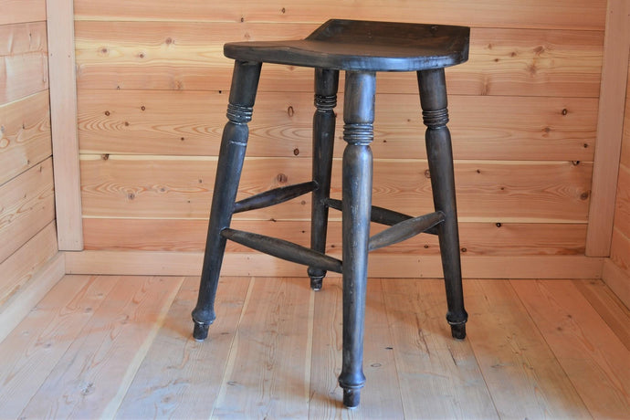 Mahogany Farmhouse Counter Stool - DemXx Online