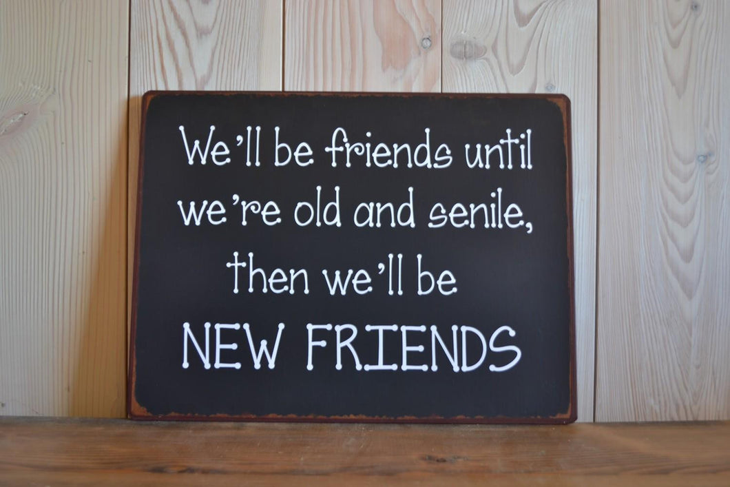 Sign | New Friends