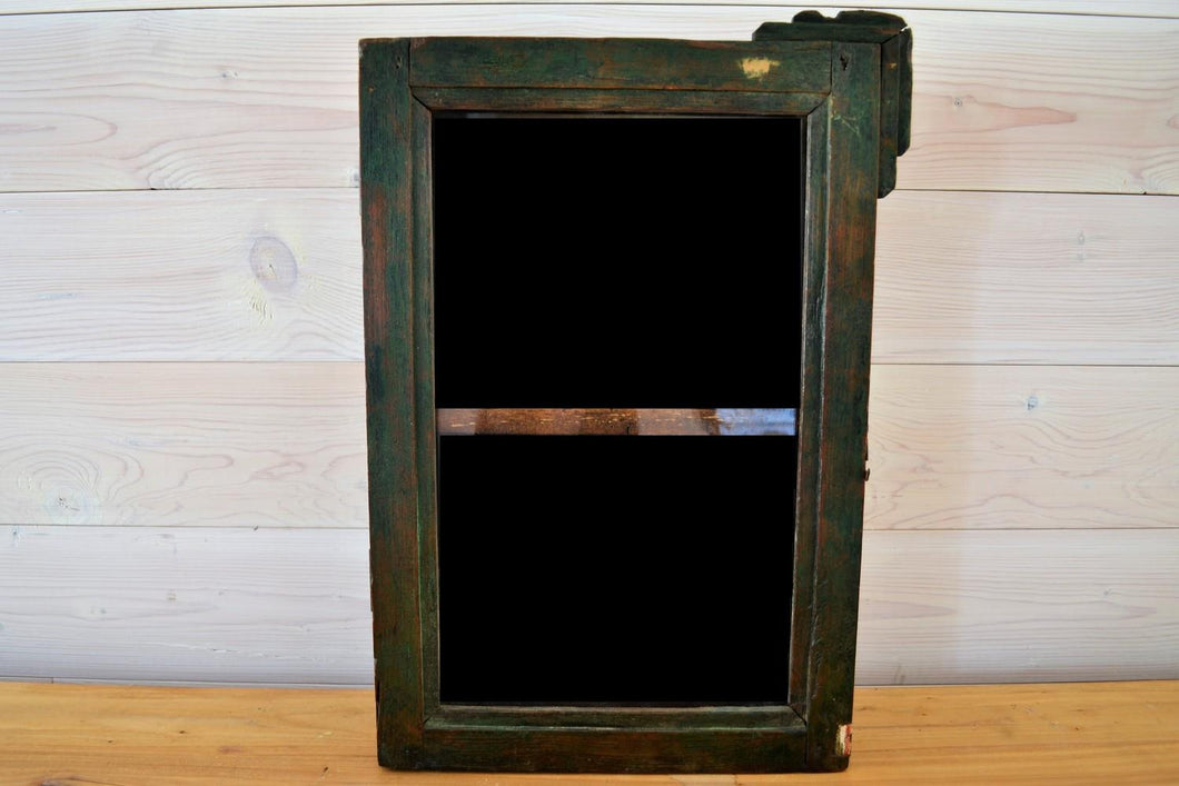 Reclaimed Medicine Cabinet | Distressed Green