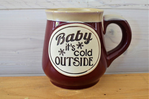 Ceramic Mug | Baby It's Cold Red