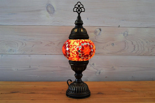 Crocus Table Lamp | Red Flower Small
