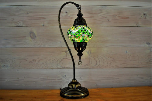 Snowdrop Table Lamp | Green Medium
