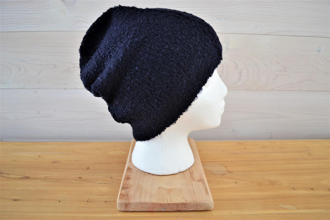 Knitted Beanie | Navy