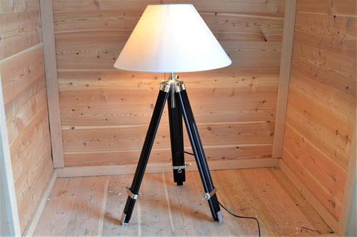 Lyle Adjustable Tripod Floor Lamp
