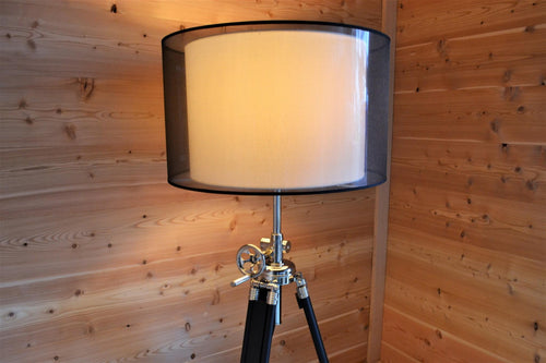 Rocket Man Adjustable Tripod Floor Lamp