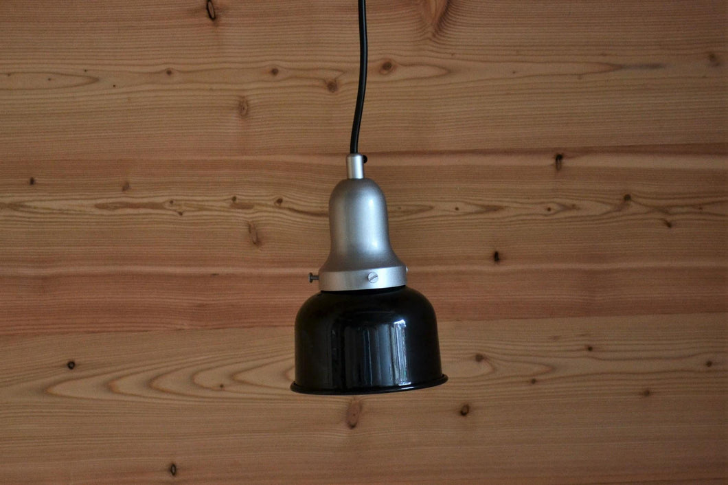 Wally Pendant Light | Black & Silver