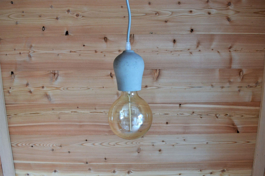Alberni Pendant Light | Cement