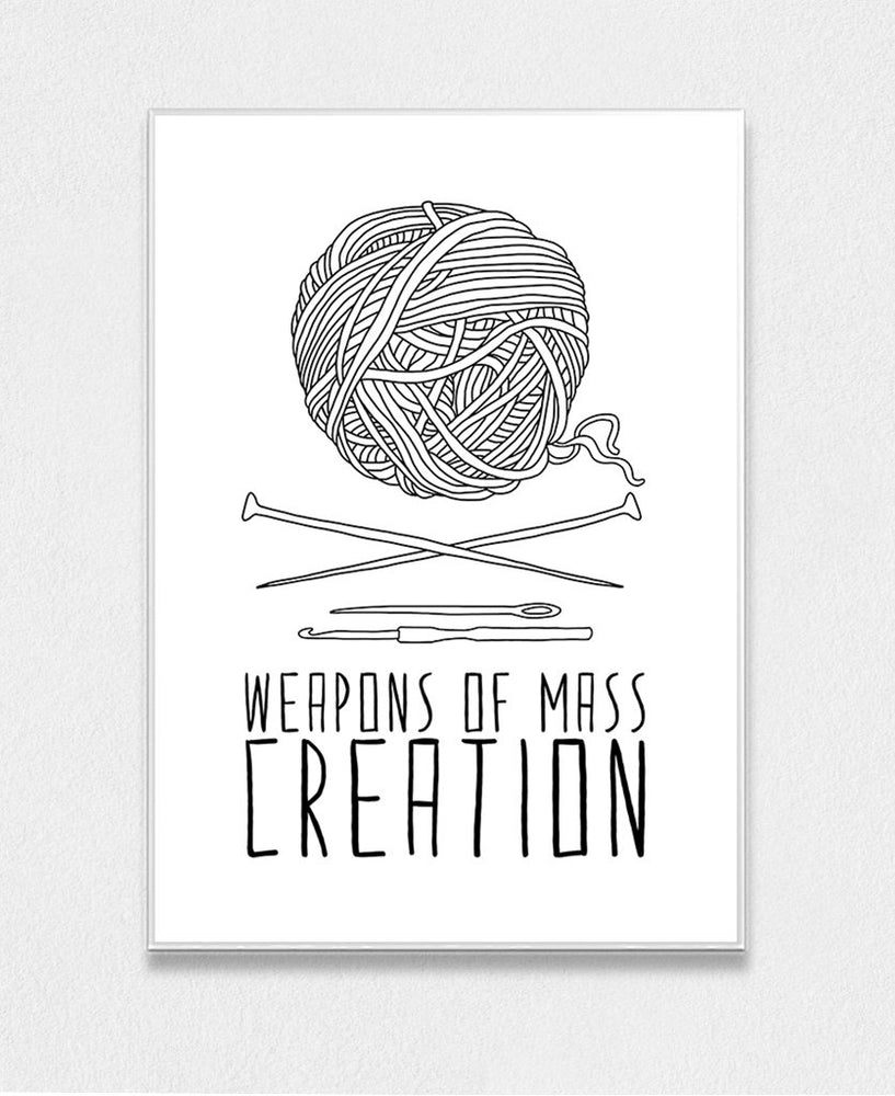 Weapons Of Mass Creation - Knitting