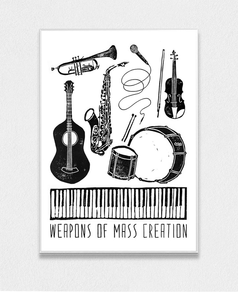 Weapons Of Mass Creation - Music