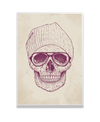 Cool Skull Interchangeable Fabric Art Print Created By Balazs Solti