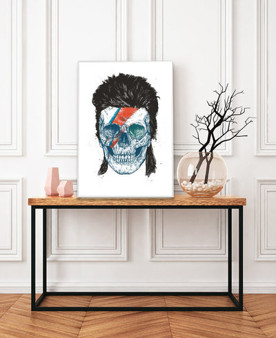 Eye Of The Singer Interchangeable Fabric Art Print Created By Balazs Solti