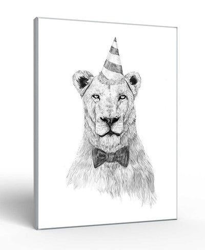 Get The Party Started Interchangeable Fabric Art Print Created By Balazs Solti