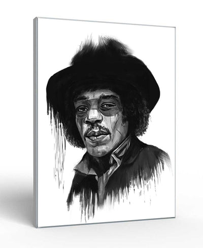 Hendrix Interchangeable Fabric Art Print Created By Balazs Solti