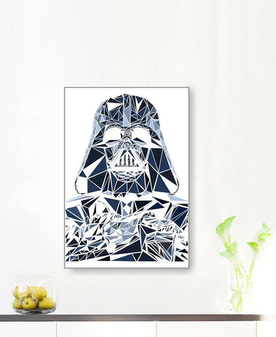 Darth Vader I Interchangeable Fabric Art Print Created By Cristian Mielu