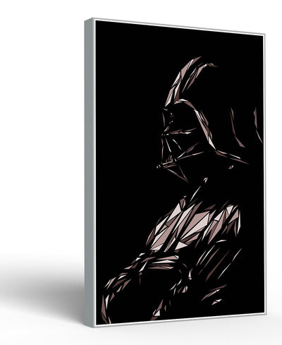 Darth Vader II Interchangeable Fabric Art Print Created By Cristian Mielu