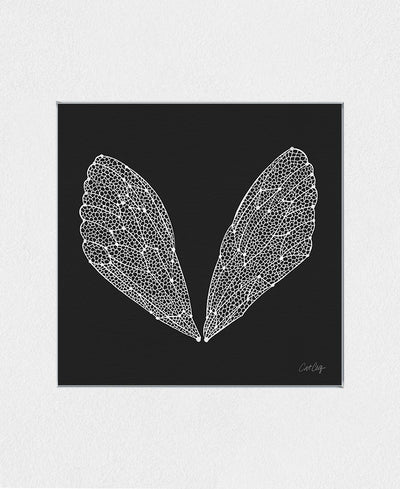 Cicada Wings Interchangeable Fabric Art Print Created By Cat Coquillette