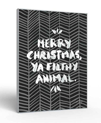 Filthy Animal Interchangeable Fabric Art Print Created By Cat Coquillette