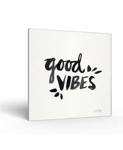 Good Vibes Interchangeable Fabric Art Print Created By Cat Coquillette