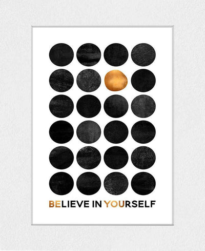 Be You Art Print Created By Elisabeth Fredriksson