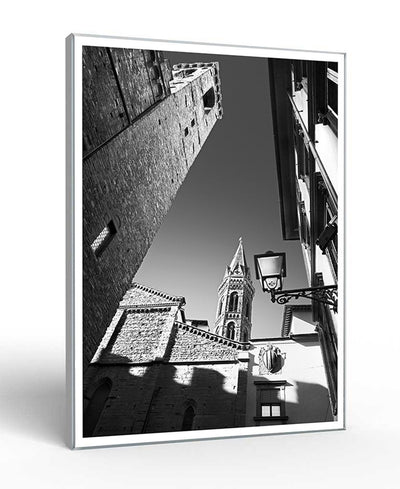 Badia Fiorentina - Florence Interchangeable Fabric Art Print Created By Jon Bertelli