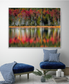 Autumn Reflections Art Print Created By Danny Head