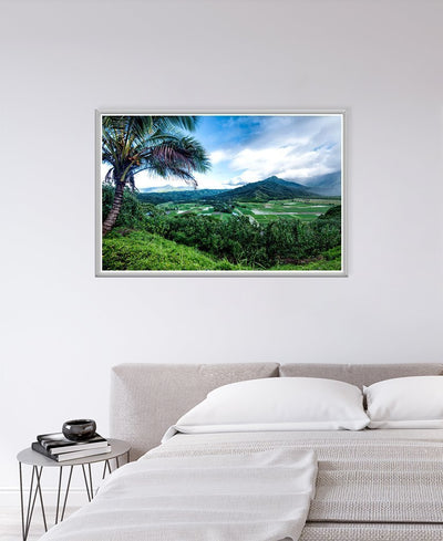Hanalei Valley Interchangeable Fabric Art Print Created By Danny Head