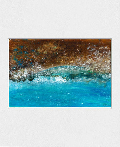 Distant Shores Interchangeable Fabric Art Print Created By Vinn Wong