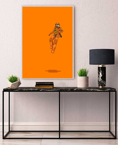 Float Out in Space Interchangeable Fabric Art Print Created By Jason Ratliff
