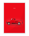 Chevrolet 3100 Pickup 1954 Interchangeable Fabric Art Print Created By Mark Rogan