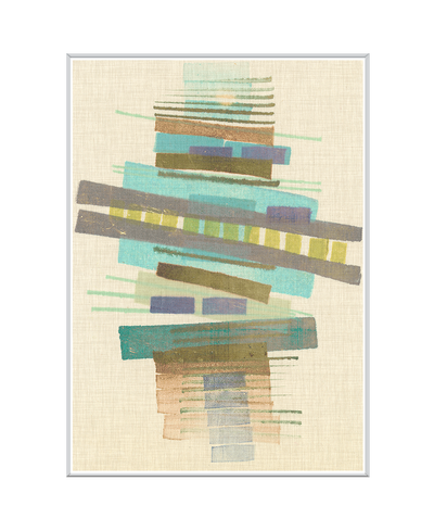 Balancing l Interchangeable Fabric Art Print Created By Nikki Galapon