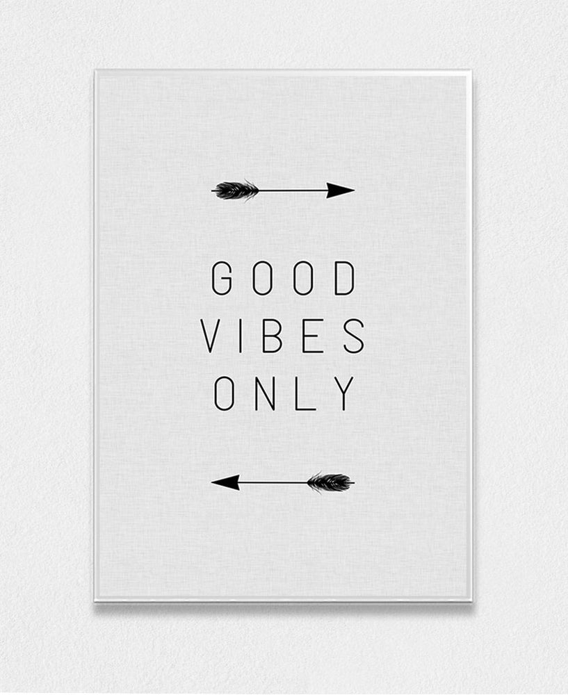 Good Vibes Only Arrow