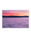 Foggy Sunset Interchangeable Fabric Art Print Created By Unsplash