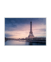 Eiffel Tower Sunrise Interchangeable Fabric Art Print Created By Unsplash