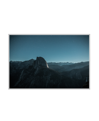 Glacier Point Road Interchangeable Fabric Art Print Created By Unsplash