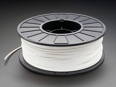 3D Printer Filament, PLA, 3mm, White, 1kg