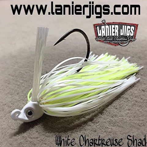 White Chartreuse Shad