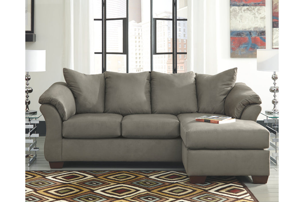 Darcy Sofa Chaise 9 Colors Reversible Chaise Brownie