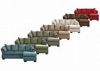 Fabulous Darcy Sofa Chaise 9 Colors Reversible Chaise Cjindustries Chair Design For Home Cjindustriesco