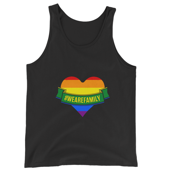 Unisex  Tank Top: LGBTQI Celebrate pride and diversity