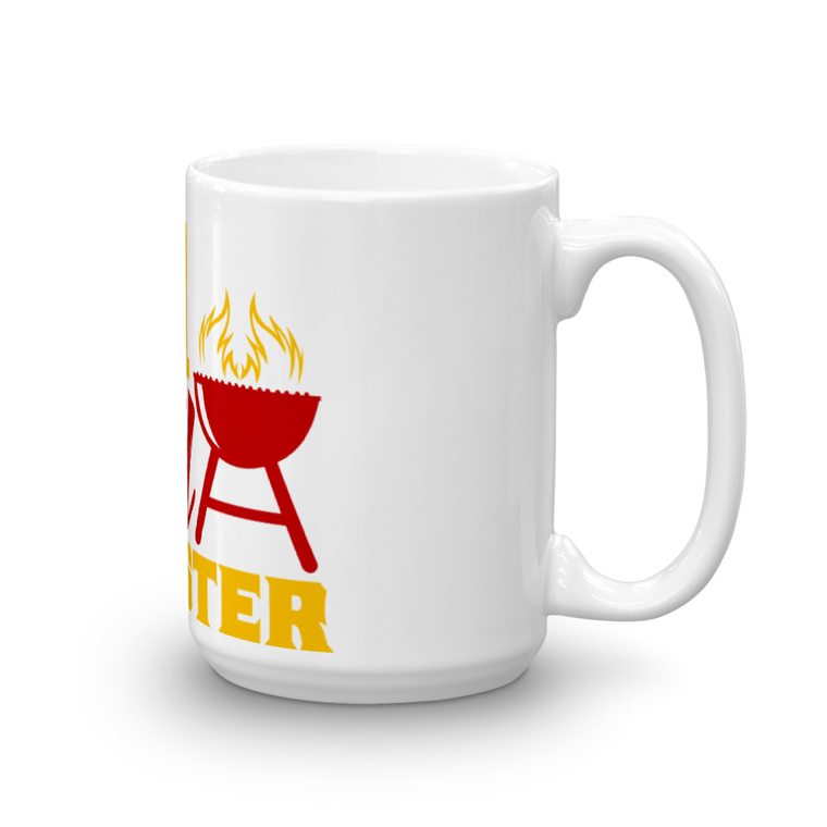 Mug made in the USA 15 oz: GRILL MASTER
