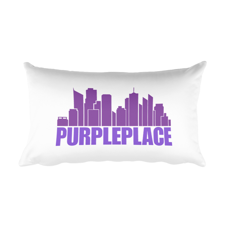 Rectangular Pillow: Purple Place