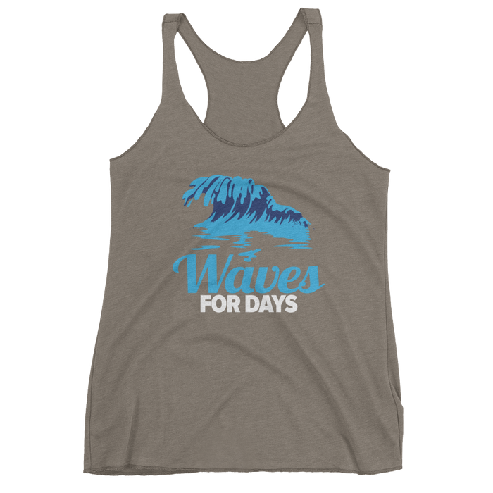Women's tank top: Waves