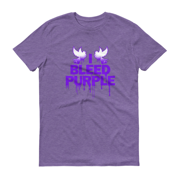 Short-Sleeve T-Shirt: Prince: I Bleed Purple Prince T-Shirt Unisex