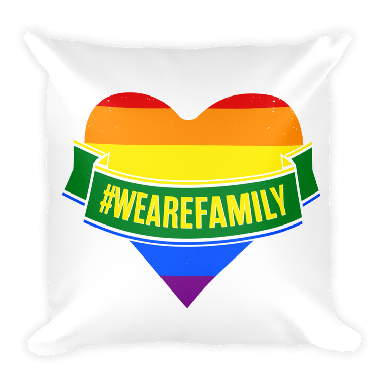 Square Pillow: Pride LGBTQI