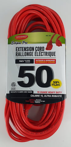 Eclipse Pro Heavy Duty Extension Cord | 50 feet long outdoor cord