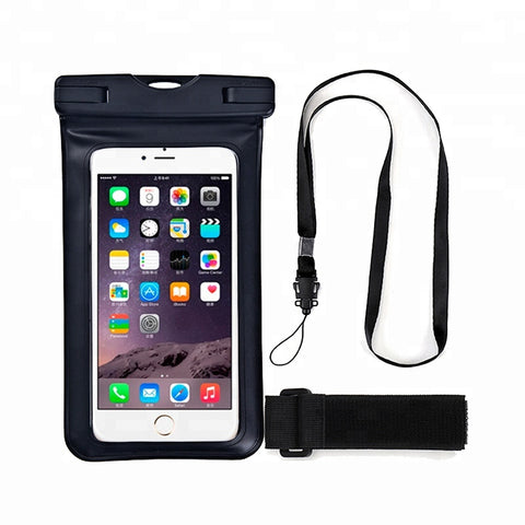 Universal Phone Pouch IPX8 Waterproof Snow Proof Dustproof Cellphone Dry Bag