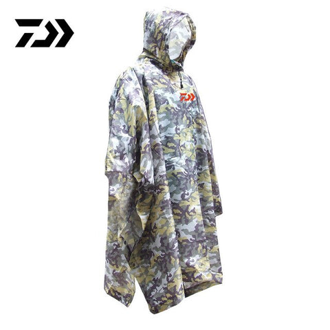 Travel Waterproof Camouflage Raincoat