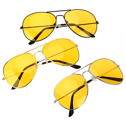 Anti-glare Copper Alloy Polarized Glasses Car Drivers