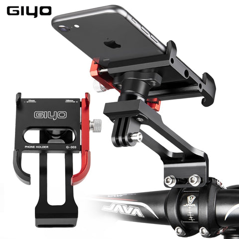 Universal  Bicycle Stem Handlebar Cell Phone Holder